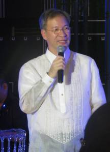 Honorable Mayor Del de Guzman provided words of inspiration on the history and culture of Marikina City.