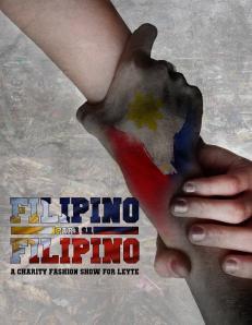 Photo credits to the Filipino Para Sa Filipino Charity Fashion Show event organizers.