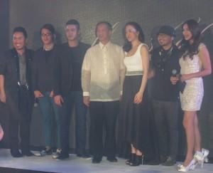 The designers with Honorable Mayor Del de Guzman.